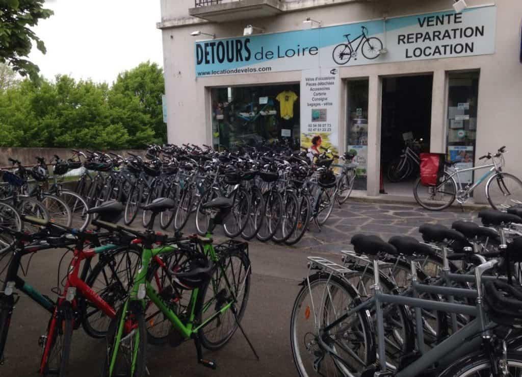 Détours de Loire Blois Parc Location vélo