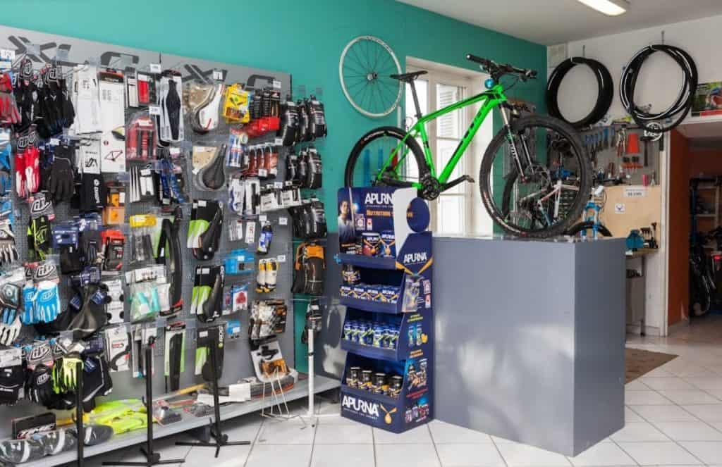 Détours de Loire Blois magasin vélo intérieur
